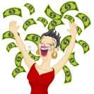 30148832-an-image-of-a-girl-winning-cash